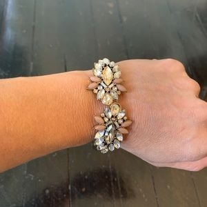 Vintage Diamond Cuff Bracelet
